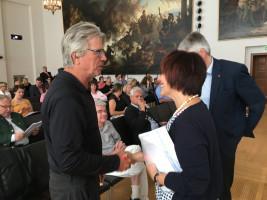 Herbert Scheuerer, E-Sport München mit Diana Stachowitz