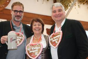 Michael Nahr, Diana Stachowitz, Harald Güller