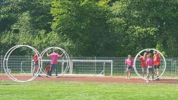 Inklusives Bezirkssportfest in Würzburg