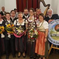"""Diana Stachowitz mit der Feuerschützengesellschaft """"Der Bund"""""""