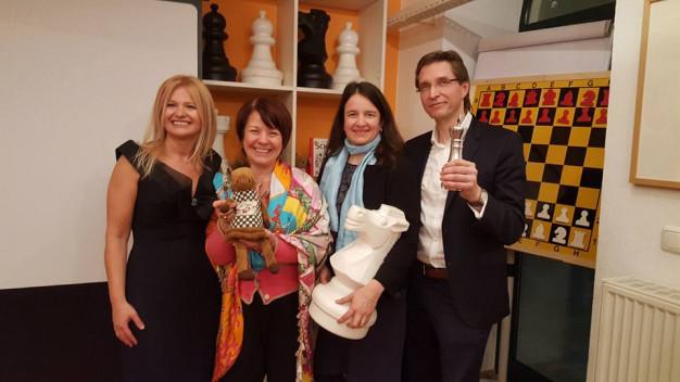 Diana Stachowitz, MdL in der Schachakademie