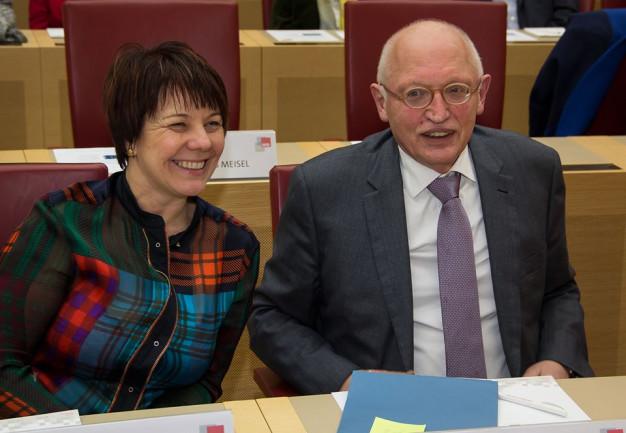 Diana mit Günter Verheugen