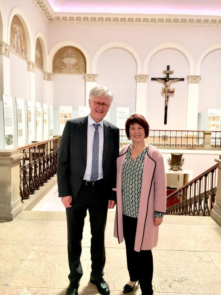 Heinrich Bedford-Strohm und Diana Stachowitz