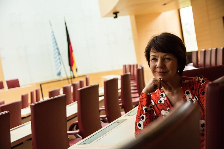 Diana Stachowitz im Landtag