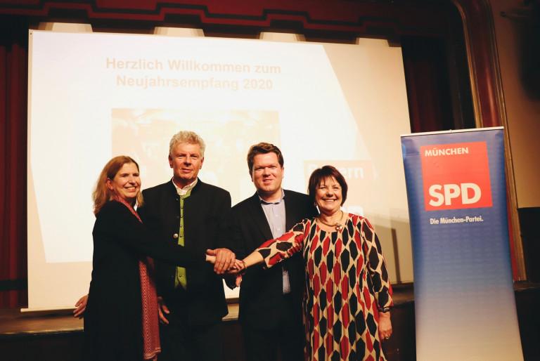 Jahresempfang des SPD-Trios aus dem Münchner Norden